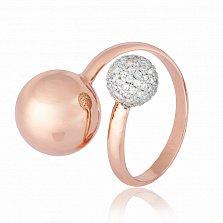 Серебряное кольцо с фианитами Джатта