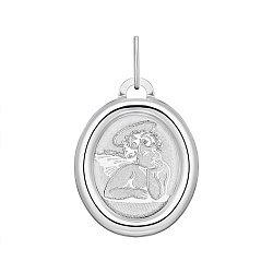 Серебряная ладанка Ангелочек 000148424