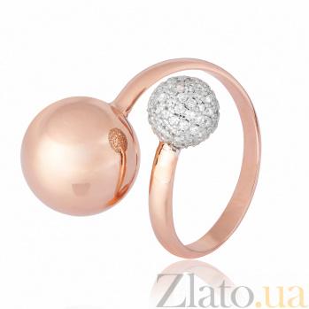 Серебряное кольцо с фианитами Джатта 000028193