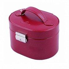 Маленькая красная шкатулка для украшений WindRose Merino с ручкой