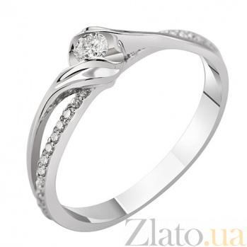 Золотое кольцо  Paloma с бриллиантами KBL--К1982/бел/брил