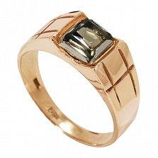 Золотое кольцо Бернадетт с раухтопазом