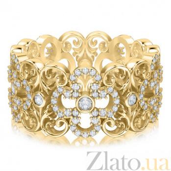 Кольцо из желтого золота с бриллиантами Долина грез: Праздник Жизни 3454/d