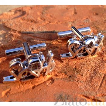 Серебряные запонки Sasho 000029275