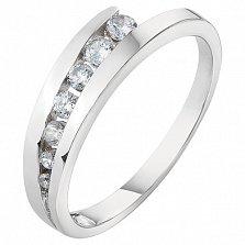 Серебряное кольцо Арриста с фианитами