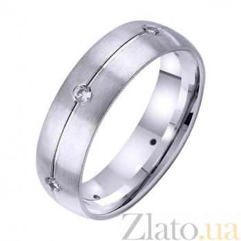 Золотое обручальное кольцо Блаженное чувство TRF--4221735