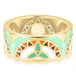 Золотое обручальное кольцо Талисман: Жизни 000009258