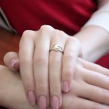 Серебряное кольцо Дикси с жемчугом
