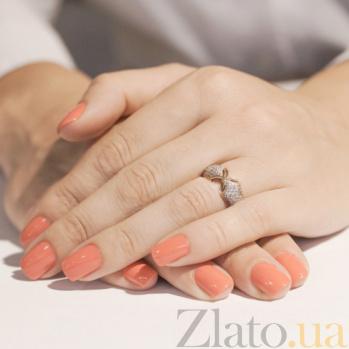 Кольцо из красного золота с фианитами Ингрид SVA--1190563101/Фианит/Цирконий