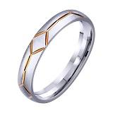 Золотое обручальное кольцо Арифметика любви