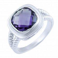 Кольцо из серебра Мэгги с александритом