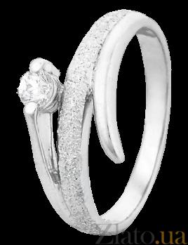 Кольцо из серебра с цирконием Рафаель 000025702