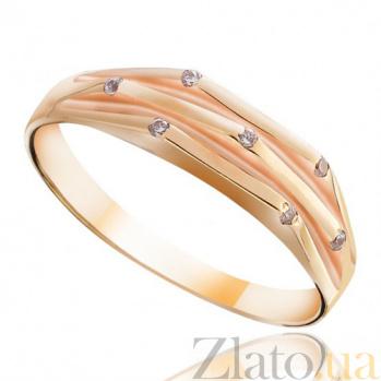 Золотое кольцо Тонкая нить EDM--КД0101