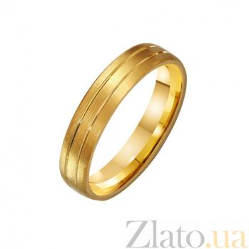 Золотое обручальное кольцо Парис TRF--431226*