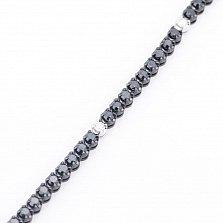Золотой браслет Эльвира с бриллиантами