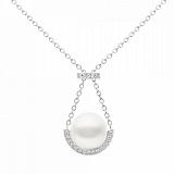 Колье Argile-A с бриллиантами и жемчугом