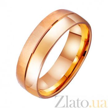 Золотое обручальное кольцо Линия любви TRF--4111015