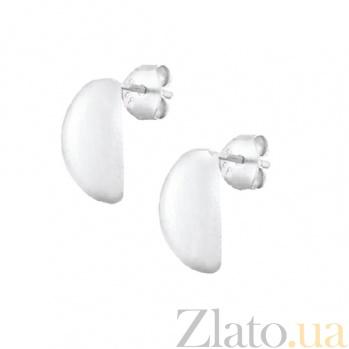 Серебряные сережки Ева SLX--С2/404