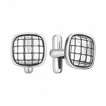 Серебряные запонки 000146070