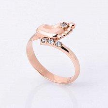 Золотое кольцо Первые шаги с фианитами