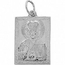 Серебряная ладанка Святой покровитель