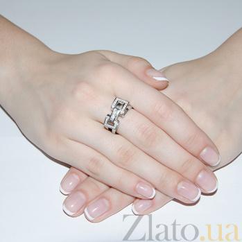 Серебряное кольцо Marilyn TNG--320785С