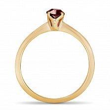 Золотое кольцо Ясмин с рубином огранки маркиз