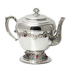 Серебряный чайник Лувр 000043573