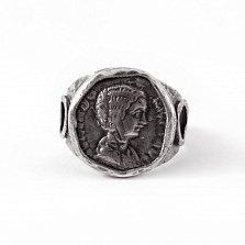 Кольцо из серебра Domna с чернением