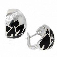 Сережки из серебра Ренесми