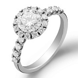 Кольцо для помолвки с бриллиантами Эшли