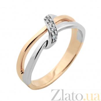 Золотое кольцо с бриллиантами Небесные нити VLA--13320