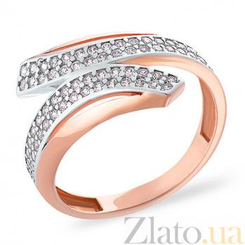 Золотое кольцо с фианитами Эвредика SUF--151853