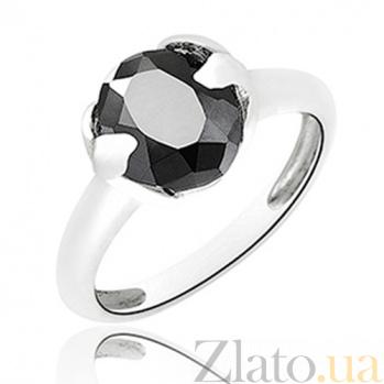 Серебряное кольцо Искушение с цирконием 10000144