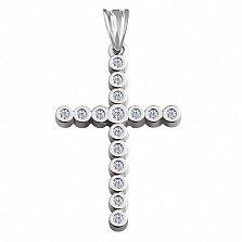 Декоративный крест с бриллиантами Восторг