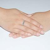 Обручальное кольцо с бриллиантами Вдохновение