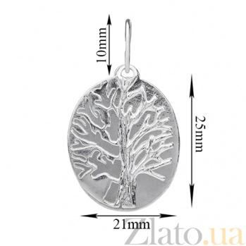 Серебряная подвеска Дерево LEL--62031