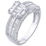 Золотое кольцо Одалина с бриллиантами
