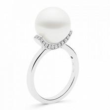 Кольцо Argile-A с жемчугом и бриллиантами