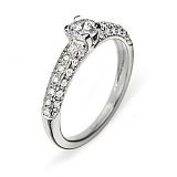 Золотое кольцо с бриллиантами Анастасия