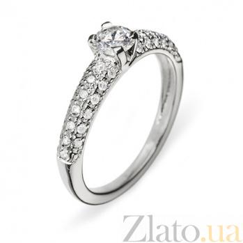 Золотое кольцо с бриллиантами Анастасия R 0474