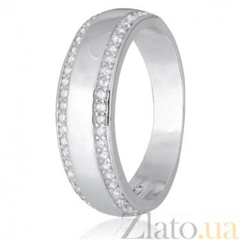 Кольцо из серебра с цирконием Фабиана 000028277