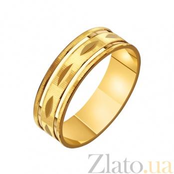 Золотое обручальное кольцо Ты моя нежность TRF--4111567