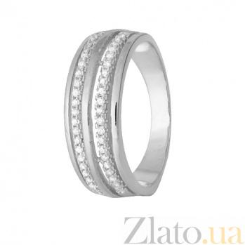 Кольцо из серебра с цирконием Данита 000028266