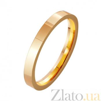 Золотое обручальное кольцо На благо и счастье TRF--411930