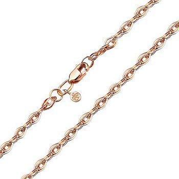 Золотий браслет в об'ємному плетінні нонна, 4мм 000104376