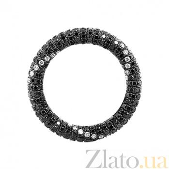 Золотое кольцо с бриллиантами Зевс и Даная 000029569