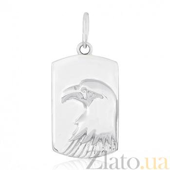 Серебряный подвес Горный орел 000031005