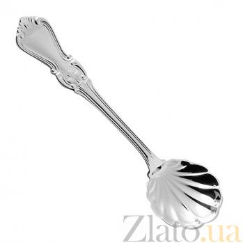 Серебряная ложка для сахара Ольга ZMX--110_325