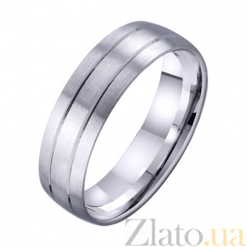 Золотое обручальное кольцо Родство душ TRF--4211731